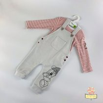 Kombinezon i bluzica za bebe devojčice, u dizni dezenu. Od 100% pamuka.