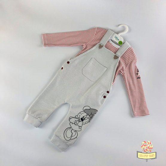 Komplet kombinezon i bluzica za devojčice