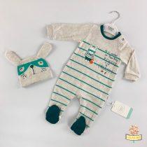 Zeka sa stopicama i kapa za bebe- bunny