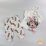 Pidžama i pamučna portikla za bebe - Minnie