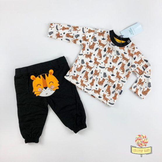 Dvodelni kompletić Baby Wonder – leopard