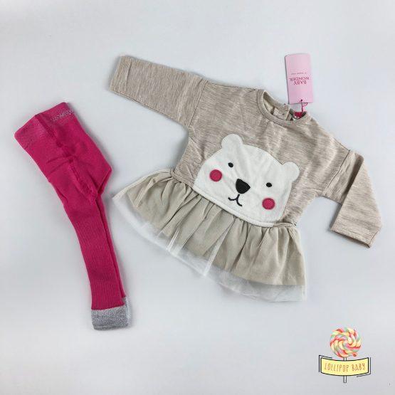 Kompletić Baby Wonder – Pink Bear
