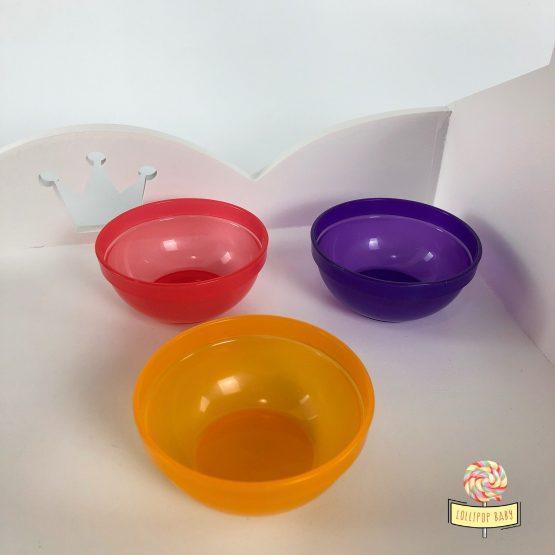 Set 3 činije BabyJem (crvena, žuta, ljubičasta)