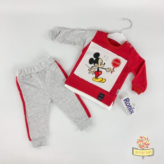 Kompletić Mickey Stop – crveni