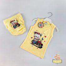 Atlet majica i gaćice za odvikavanje od pelena u motor dezenu, za dečake.