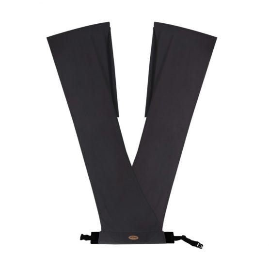 Kengur (sling) marama za nošenje bebe - tamno siva