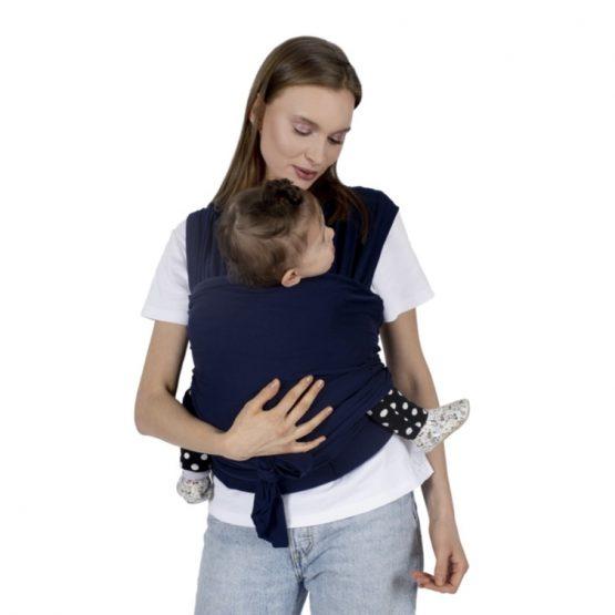 Kengur (sling) marama za nošenje bebe – teget