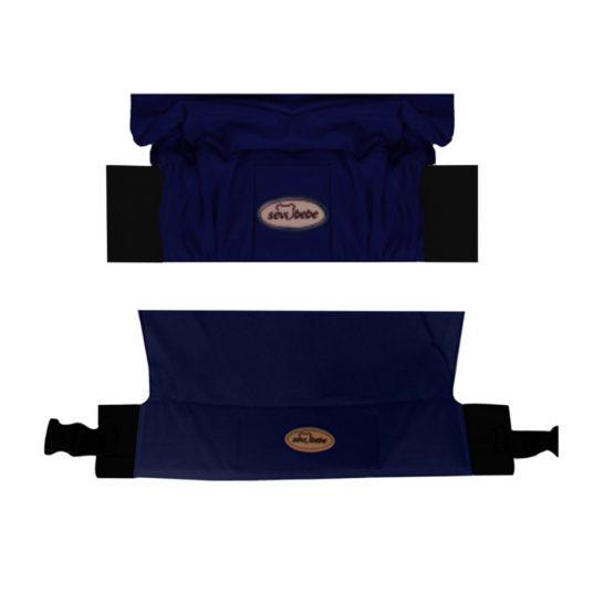 Kengur (sling) marama za nošenje bebe - teget