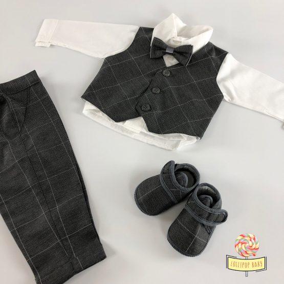 Svečano odelo sa cipelicama za bebe