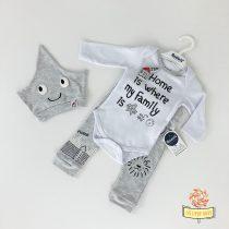 "Trodelni kompletić za bebe MiniWorld ""Home"""