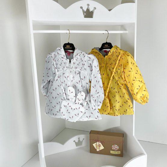 """Šuškava prolećna jaknica i torbica """"Zeka"""""""