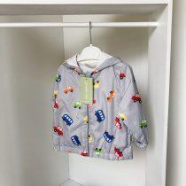 """Šuškava prolećna jaknica za bebe """"Autići"""""""