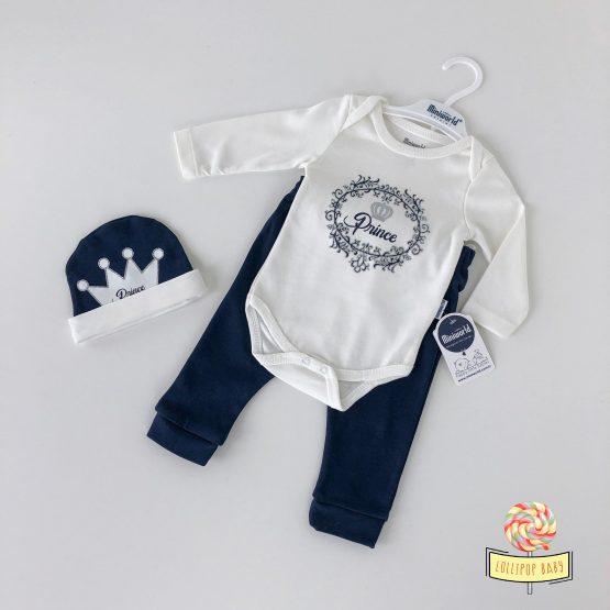 """Trodelni kompletić za bebe MiniWorld """"Prince"""""""