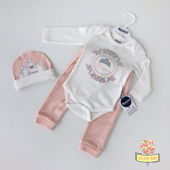 "Trodelni kompletić za bebe MiniWorld ""Princess"""