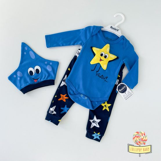 """Trodelni kompletić za bebe MiniWorld """"Morska zvezda"""""""