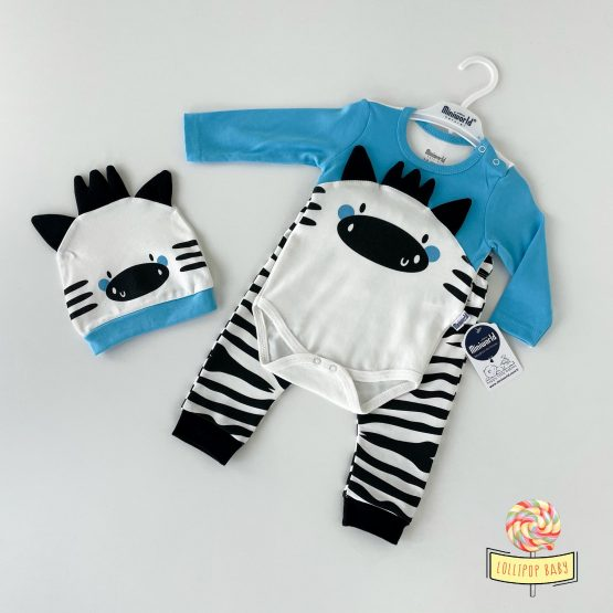 "Trodelni kompletić MiniWorld ""Zebra"""