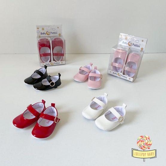Lakovane baletanke za bebe