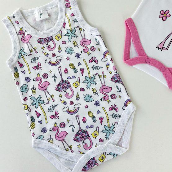 """Set dva bodića Panolino """"Flamingo"""""""