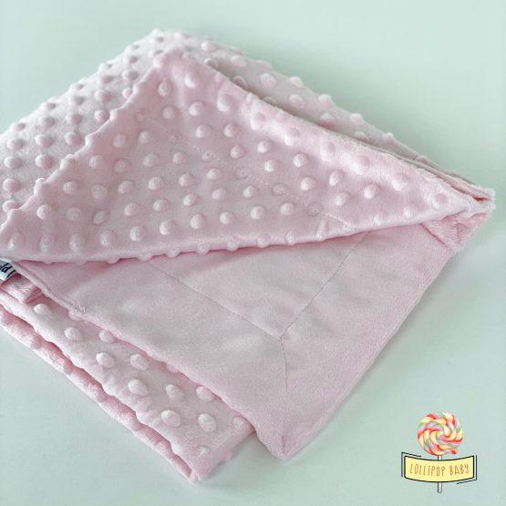 Roze minky ćebence za bebe MiniWorld
