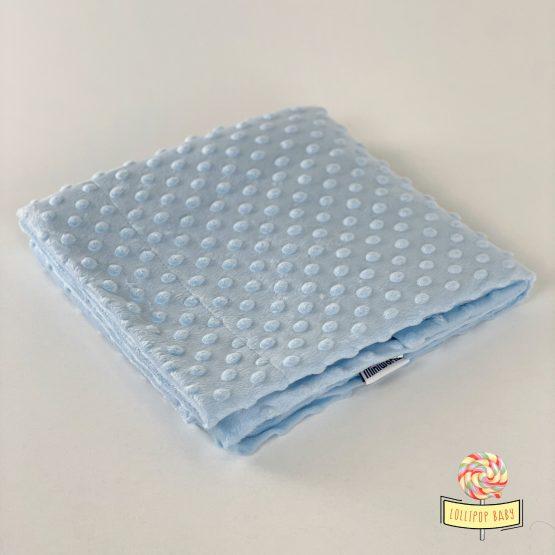 Plavo minky ćebence za bebe MiniWorld