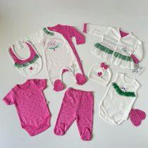 """Osmodelni set za bebe devojčice """"Lubenica"""""""