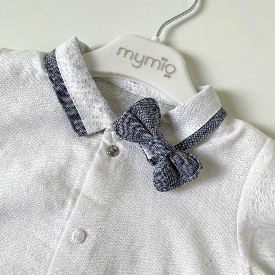 Bodi košulja sa leptir mašnom Mymio