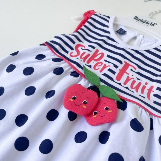 "Letnja haljinica za bebe MiniWorld ""Super Fruit"""