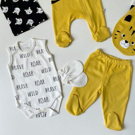 """Osmodelni set za bebe dečake """"Roar"""""""