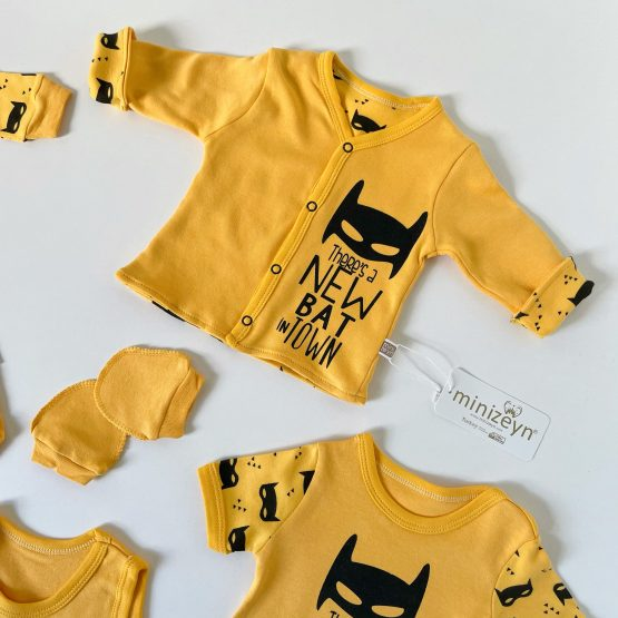 """Osmodelni set za bebe Minizeyn """"New Bat"""""""