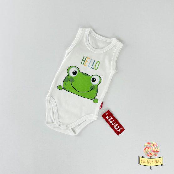 """Atlet bodi za bebe """"Hello Frog"""""""