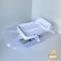Bela krevetić podloga za kupanje bebe