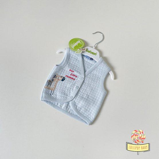 """Pamučni prsluk za bebe Bebessi """"Zebra"""""""