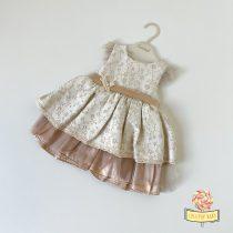 Bež svečana haljinica za bebe Cassiope