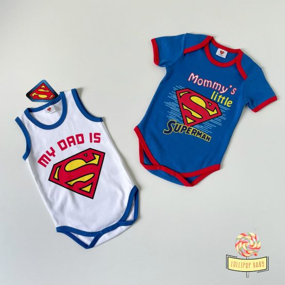 "Set dva letnja bodića Disney ""Superman"""