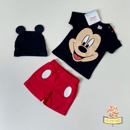 """Trodelni letnji kompletić Disney """"Mickey Mouse"""""""