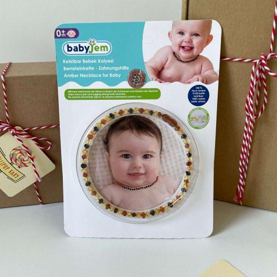 Ogrlica od ćilibara za bebe