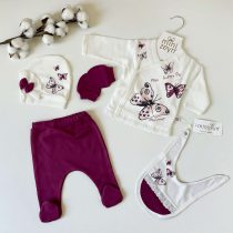"Set za novorođenče Minizeyn ""Leptir"""