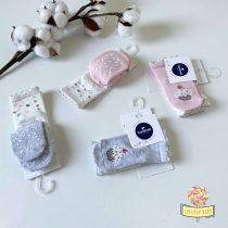 Neklizajuće čarapice za bebe Caramell dvopak