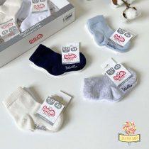 Čarapice za bebe dečake dvopak Bebetto