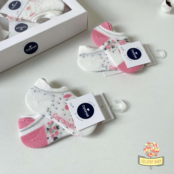 Nazuvice za bebe devojčice 2pcs Caramell