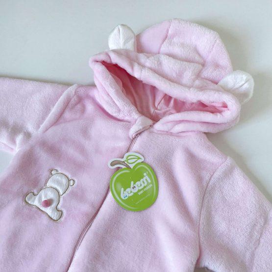 Plišana vreća za spavanje Bebessi (roze)