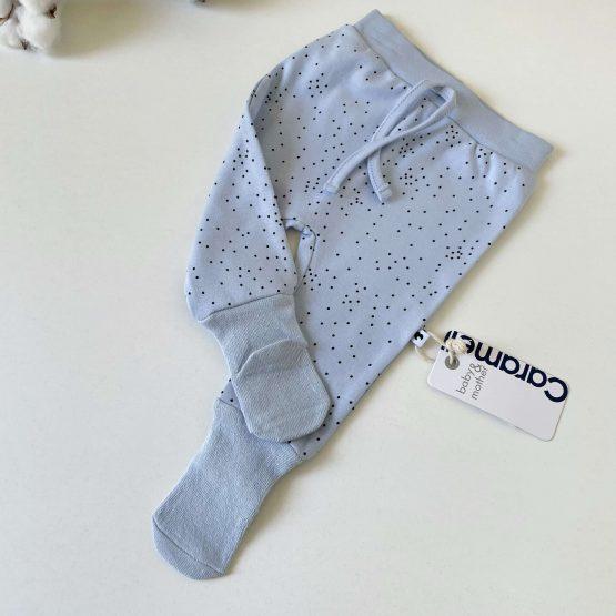 Donji deo sa stopicama čarapicama Caramell (plavi)