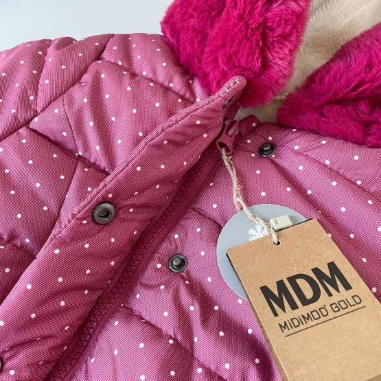 """Zimska jaknica za devojčice MDM """"Meda"""""""