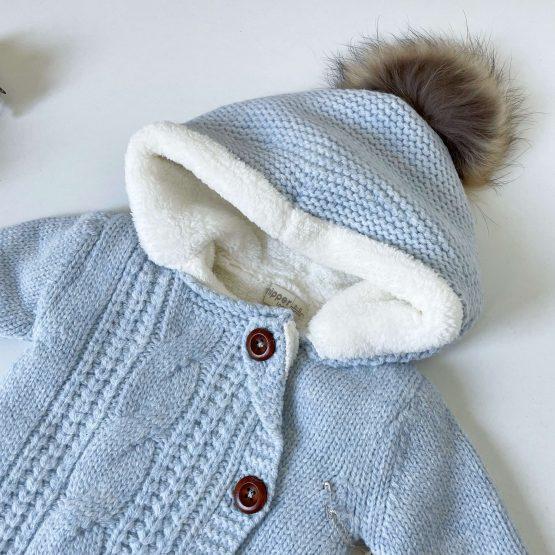 Skafander od merino vune NipperLand (plavi)