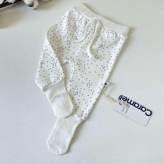 Donji deo sa stopicama čarapicama Caramell (beli)