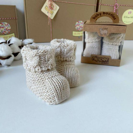Pletene papice od merino vune NipperLand