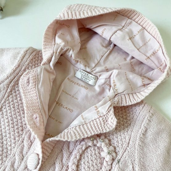 Knit zeka za bebe NipperLand (roze)