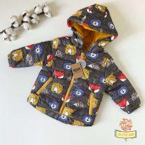 """Zimska jaknica MDM """"Životinjsko carstvo"""" (žuta)"""