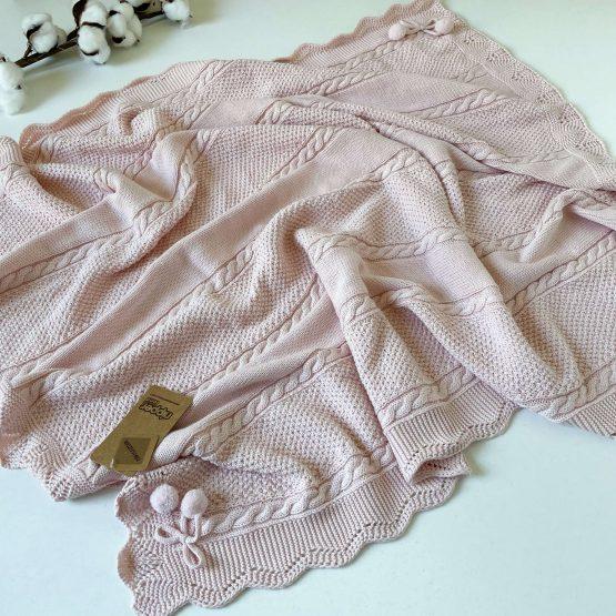 """Knit set za bebe NipperLand """"PomPom"""""""