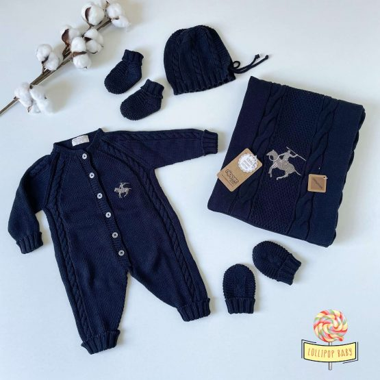 "Knit set za bebe NipperLand ""Horse"""